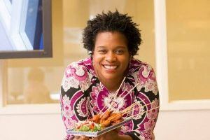 Chef Nadine Nelson, the